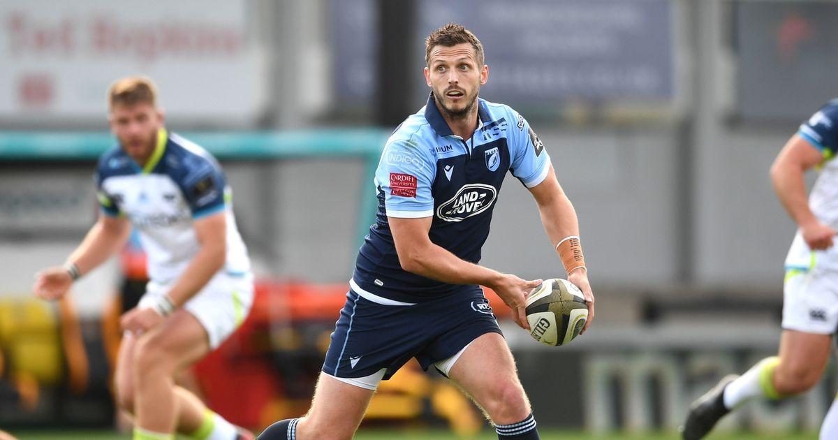 Camiseta Cardiff Blues Rugby 2018-2019 Local